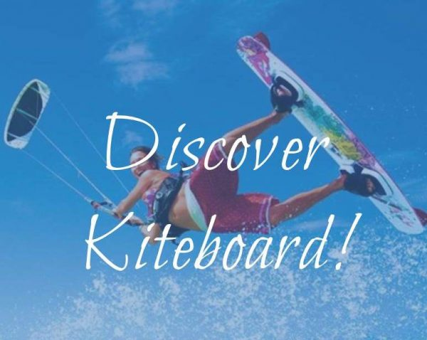 discover kiteboard course - beginner level