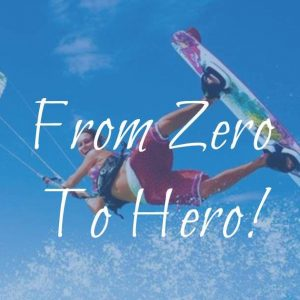 kiteboard lesson independent level from zero to hero
