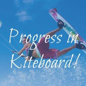 kiteboard lesson intermediate - progress in kiteboard