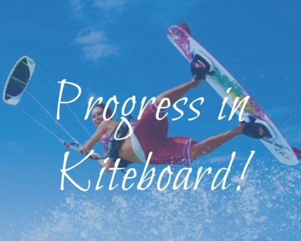 kiteboard (equipment demonstration and guide) lesson intermediate - progress in kiteboard