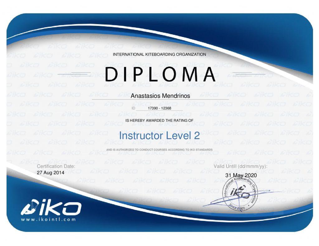 iko kitesurf head instructor