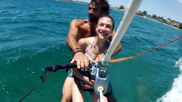 tandemkitesurf try kitesurf ride instantly in athens greece